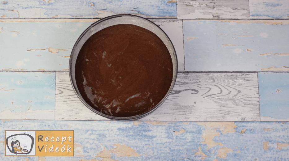 Csokoládétorta (csokitorta) recept elkészítése 4. lépés