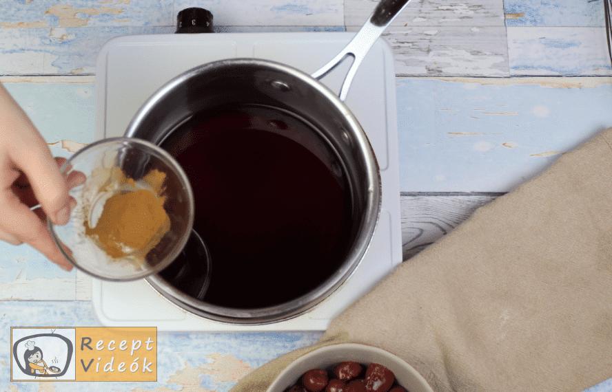 feketeerdő torta recept, feketeerdő torta elkészítése 5. lépés
