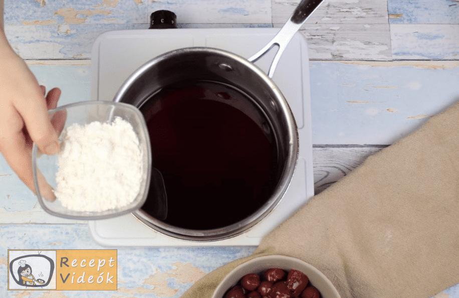 feketeerdő torta recept, feketeerdő torta elkészítése 7. lépés