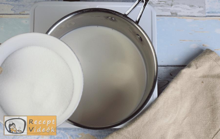 Kinder bueno torta recept elkészítése 6. lépés