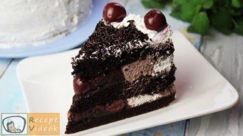 feketeerdő torta recept, feketeerdő torta elkészítése - Recept Videók