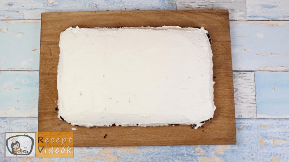 kinder pingui szelet recept, kinder pingui szelet elkészítése 11. lépés