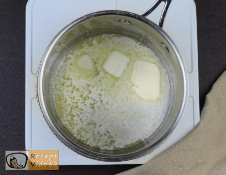 kinder pingui szelet recept, kinder pingui szelet elkészítése 12. lépés