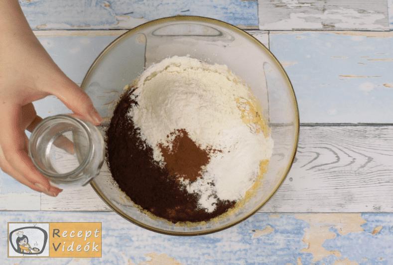 kinder pingui szelet recept, kinder pingui szelet elkészítése 3. lépés