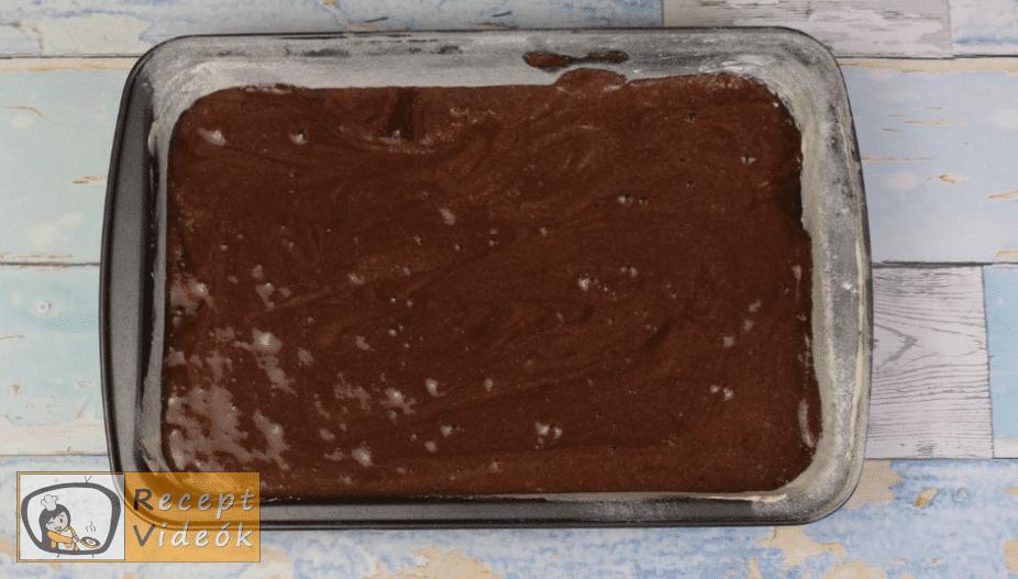 kinder pingui szelet recept, kinder pingui szelet elkészítése 6. lépés