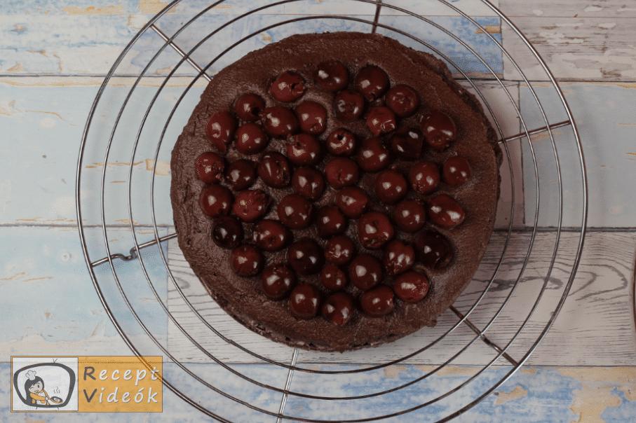 lúdláb torta recept, lúdláb torta elkészítése 10. lépés