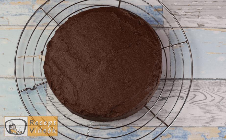 lúdláb torta recept, lúdláb torta elkészítése 11. lépés