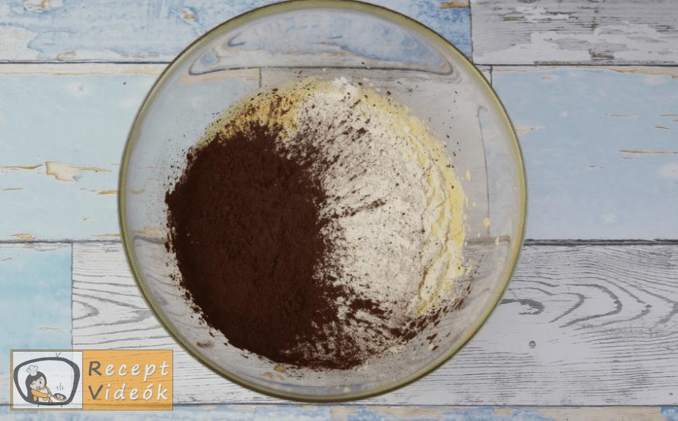 lúdláb torta recept, lúdláb torta elkészítése 2. lépés