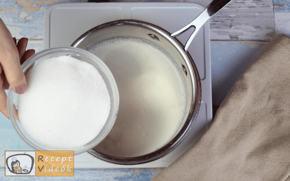 lúdláb torta recept, lúdláb torta elkészítése 5. lépés