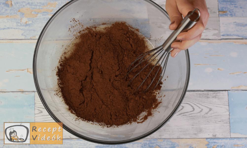 Csokoládétorta (csokitorta) recept elkészítése 6. lépés