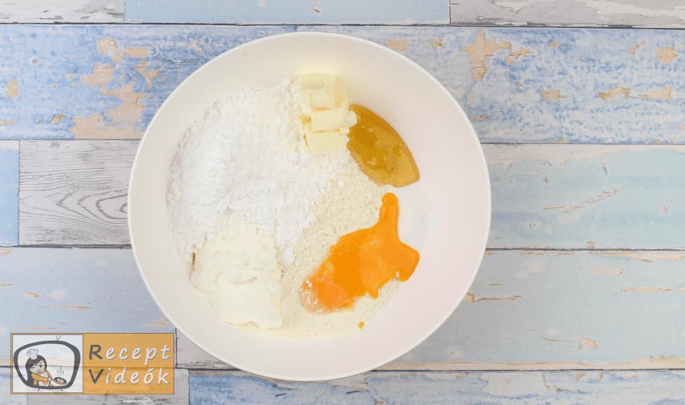 Mézes krémes recept, mézes krémes elkészítése 1. lépés