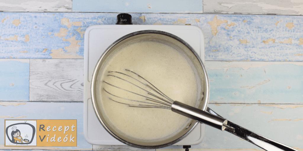 Mézes krémes recept, mézes krémes elkészítése 4. lépés