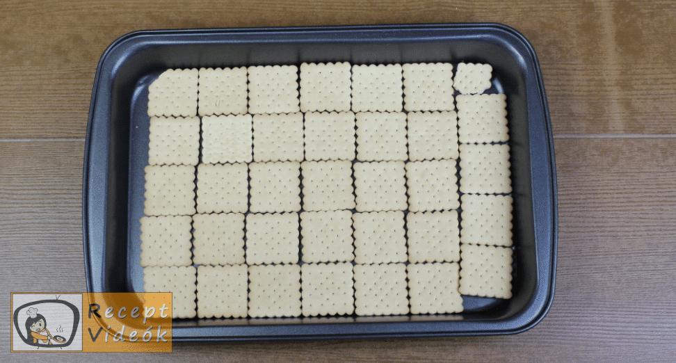 Meggyes szelet (sütés nélkül) recept elkészítése 1. lépés