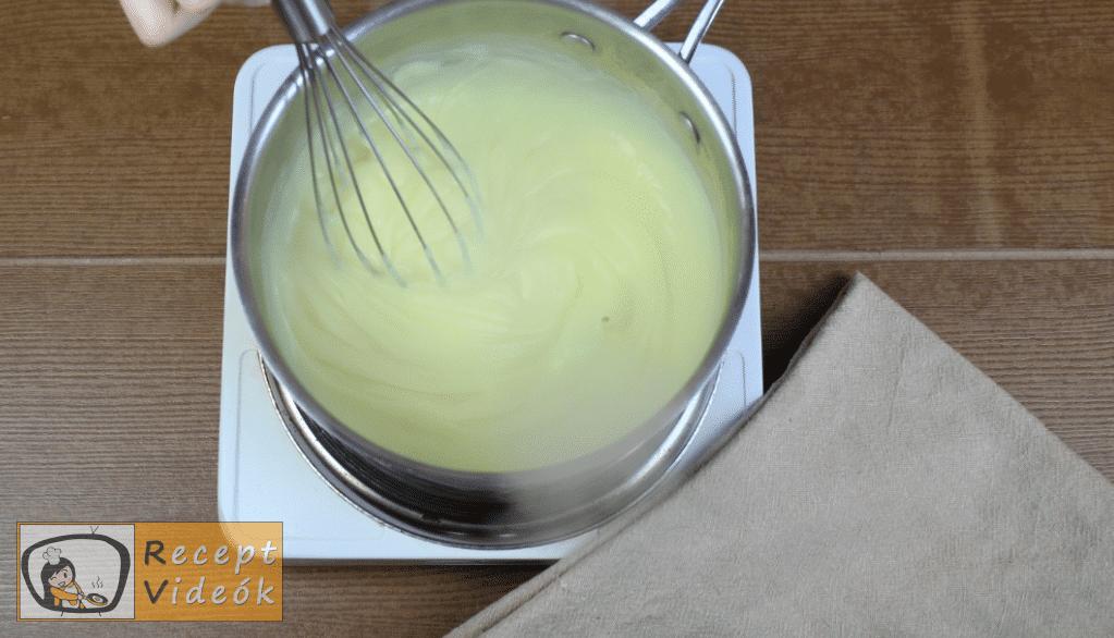 Meggyes szelet (sütés nélkül) recept elkészítése 7. lépés