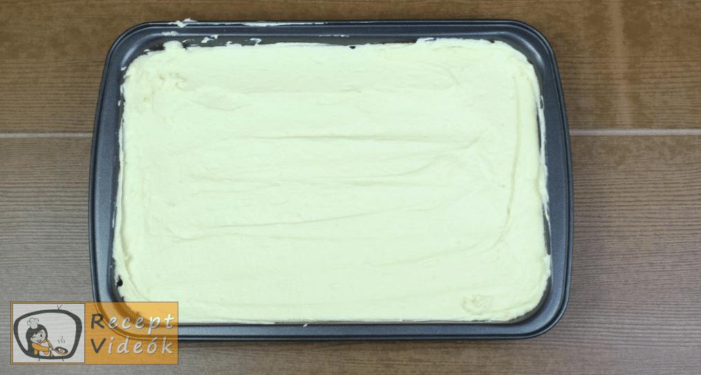 Meggyes szelet (sütés nélkül) recept elkészítése 9. lépés