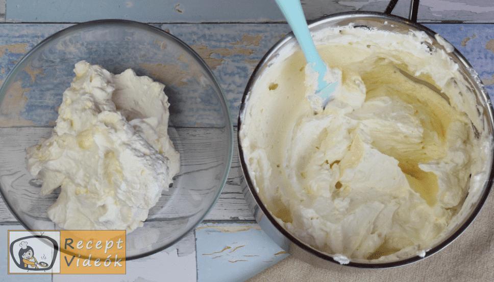 Oroszkrém torta recept, oroszkrém torta elkészítése 10. lépés