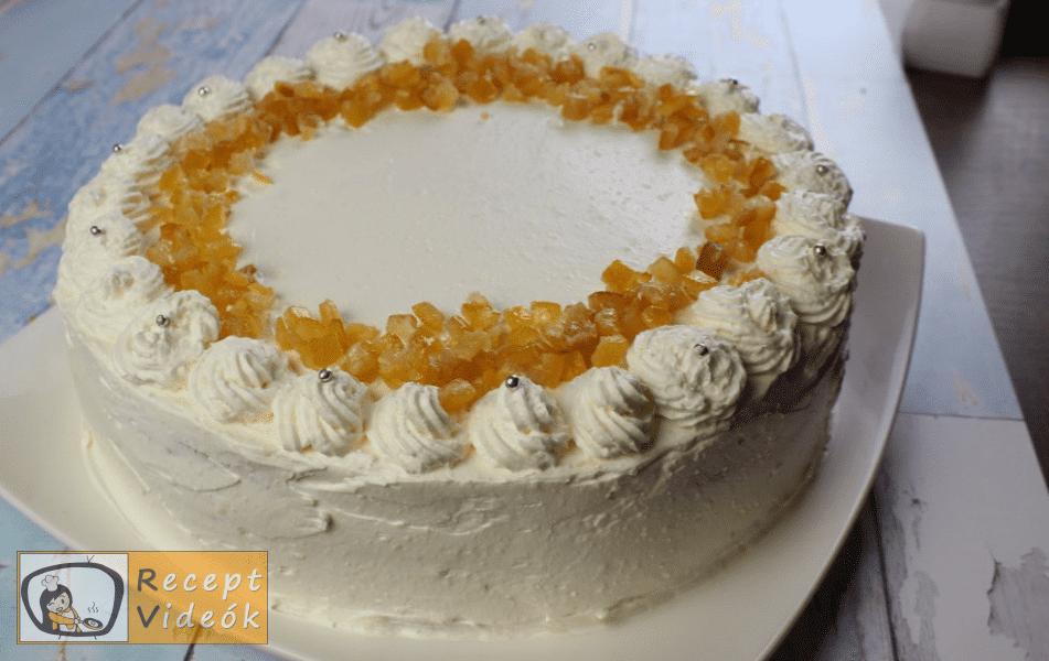 Oroszkrém torta recept, oroszkrém torta elkészítése 15. lépés