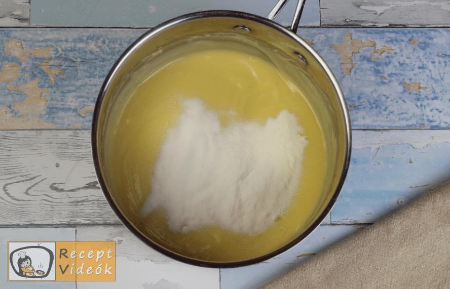 Oroszkrém torta recept, oroszkrém torta elkészítése 8. lépés