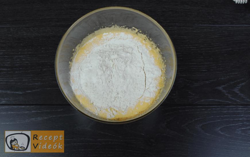 Puncs szelet recept, puncs szelet elkészítése 2. lépés