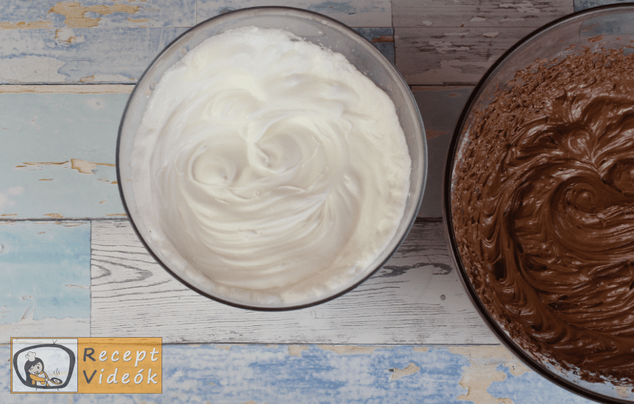 sacher torta recept, sacher torta elkészítése 4. lépés