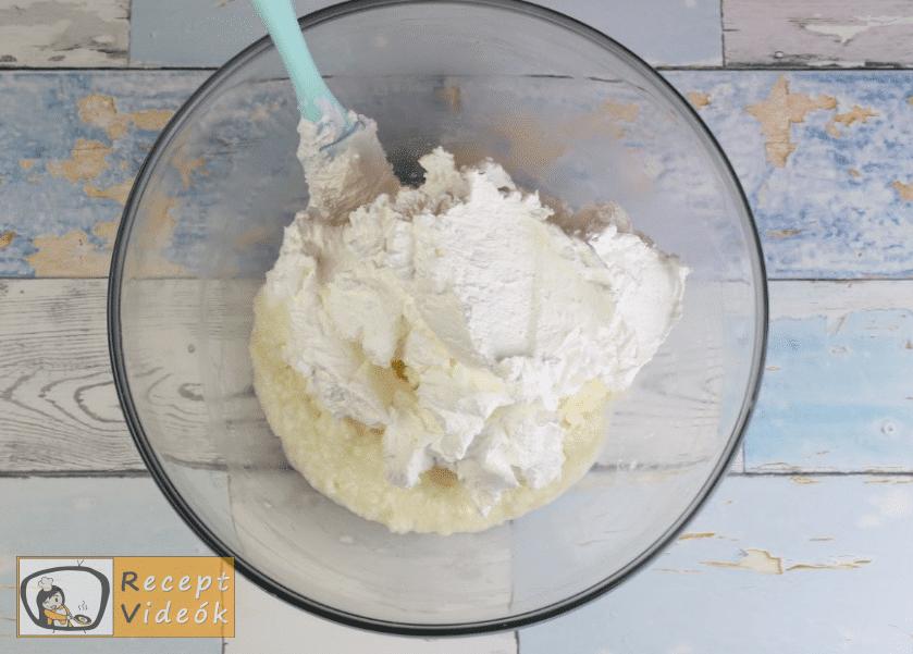 Túrótorta (sütés nélkül) recept, túrótorta (sütés nélkül) elkészítése 5. lépés