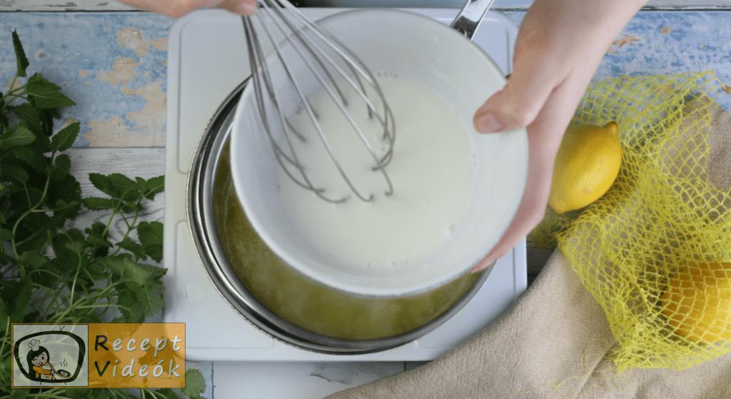Túrótorta (sütés nélkül) recept, túrótorta (sütés nélkül) elkészítése 9. lépés