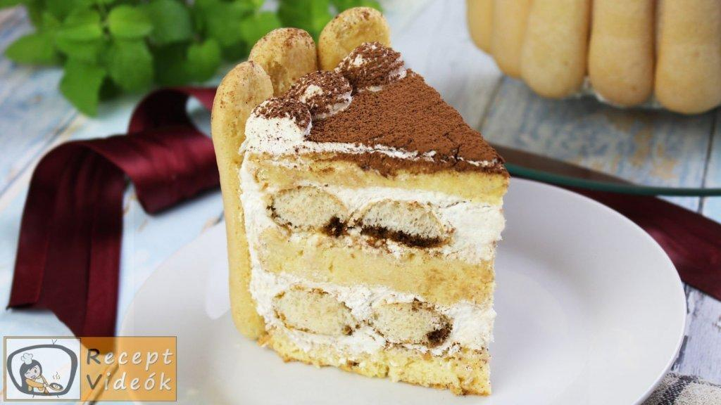 Tiramisu torta recept, tiramisu torta elkészítése -Recept Videók