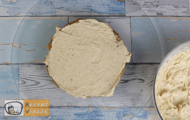 Eszterházy torta recept, Eszterházy torta elkészítése 13. lépés