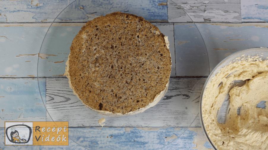 Eszterházy torta recept, Eszterházy torta elkészítése 14. lépés