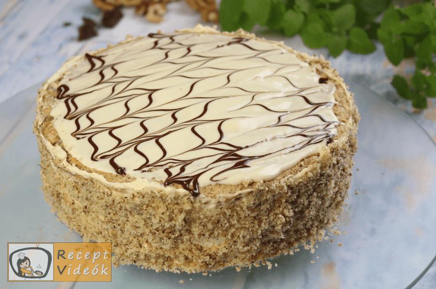 Eszterházy torta recept, Eszterházy torta elkészítése 17. lépés
