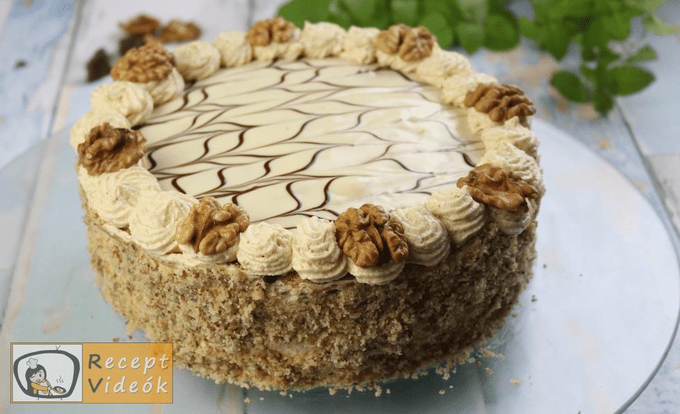 Eszterházy torta recept, Eszterházy torta elkészítése 18. lépés