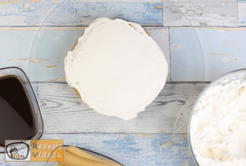 Tiramisu torta recept, tiramisu torta elkészítése 7. lépés