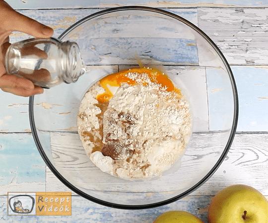 almás palacsinta recept, almás palacsinta elkészítése 1. lépés