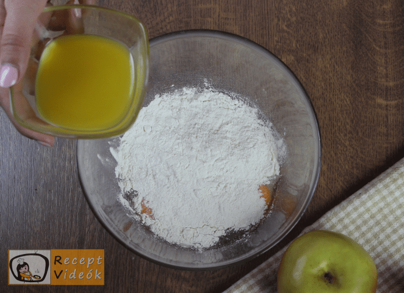 Francia palacsinta recept, francia palacsinta elkészítése 1. lépés