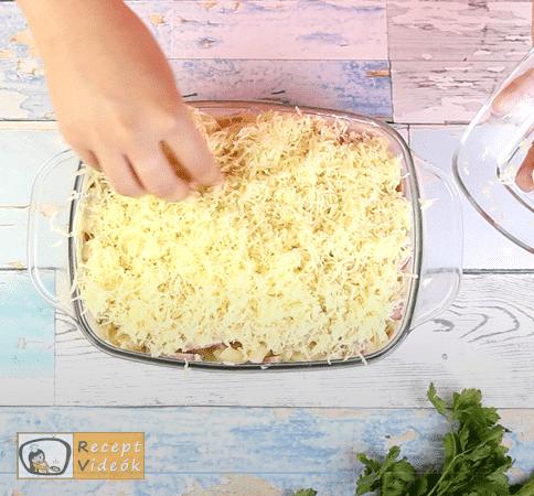 rakott tészta recept, rakott tészta készítése 10. lépés