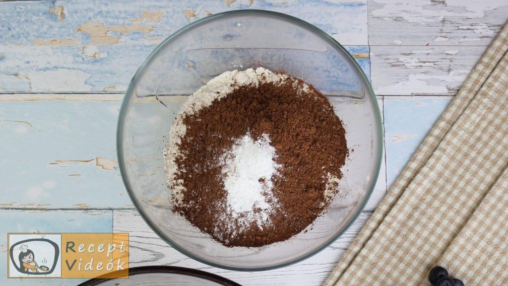Brownie recept, brownie elkészítése 4. lépés