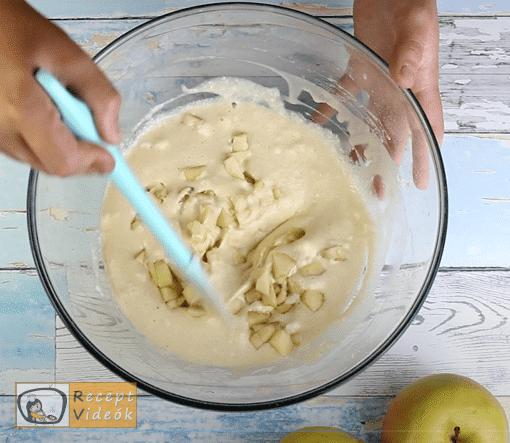 almás palacsinta recept, almás palacsinta elkészítése 4. lépés