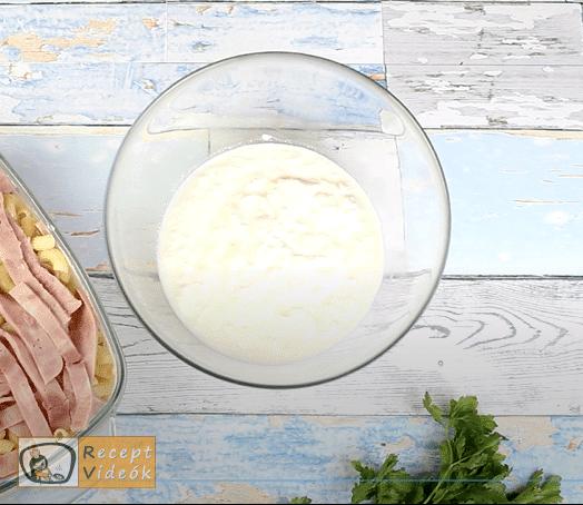 rakott tészta recept, rakott tészta készítése 6. lépés