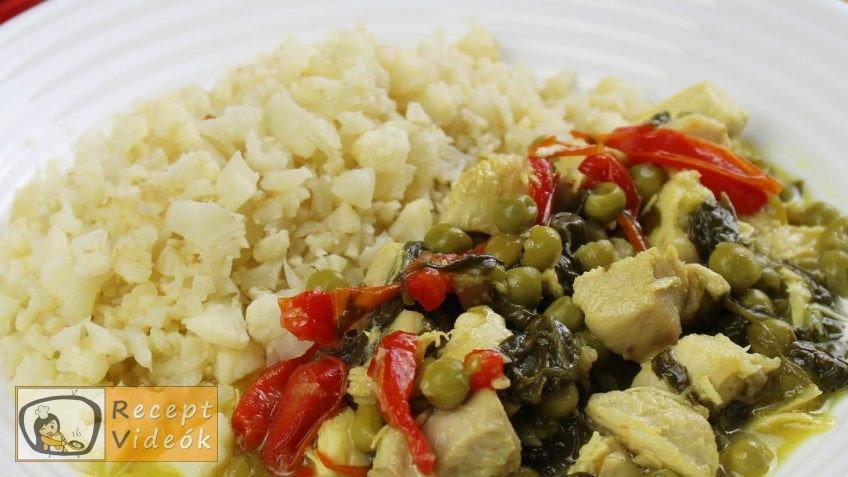 currys csirke recept, currys csirke elkészítése - Recept Videók