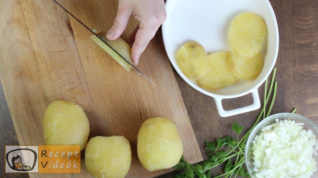 krumplisaláta recept, krumplisaláta elkészítése 1. lépés