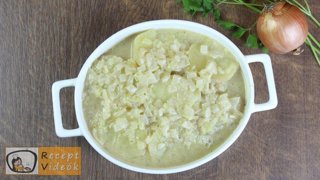 krumplisaláta recept, krumplisaláta elkészítése 4. lépés