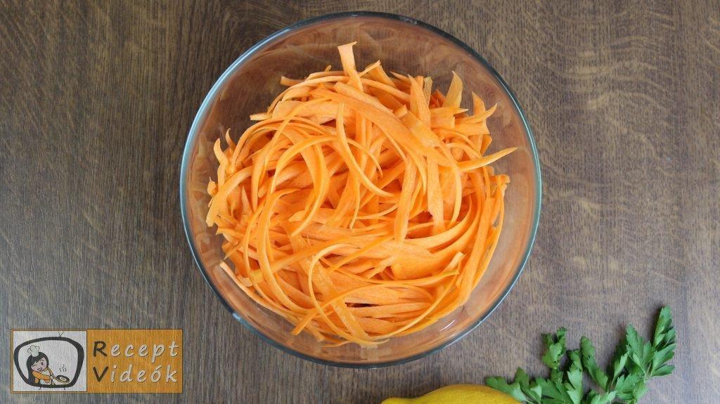 sárgarépasaláta recept, sárgarépasaláta készítése 1. lépés