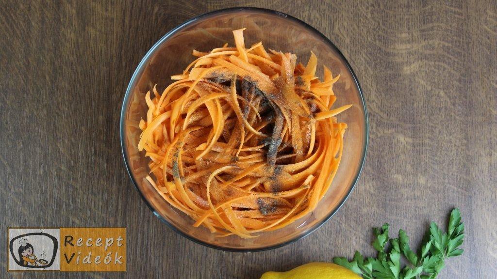sárgarépasaláta recept, sárgarépasaláta készítése 2. lépés
