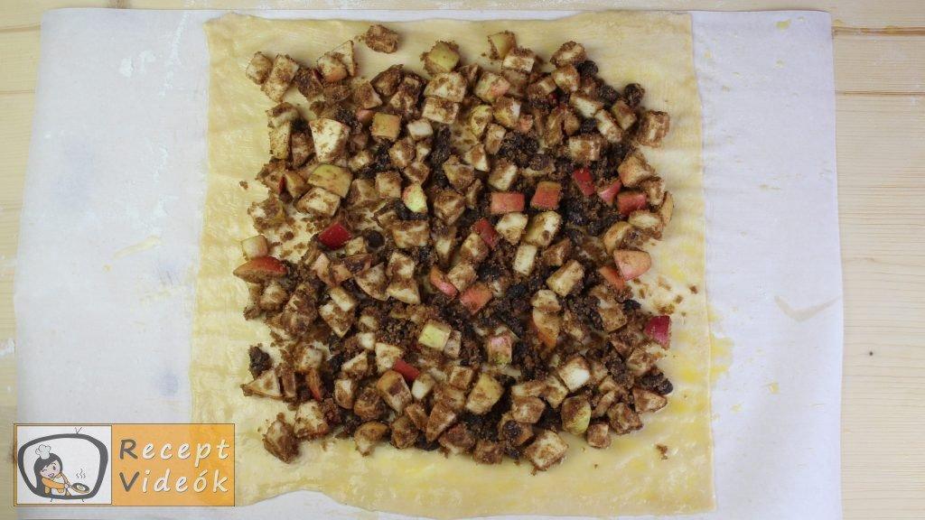 almás rétes recept, almás rétes elkészítése 7. lépés