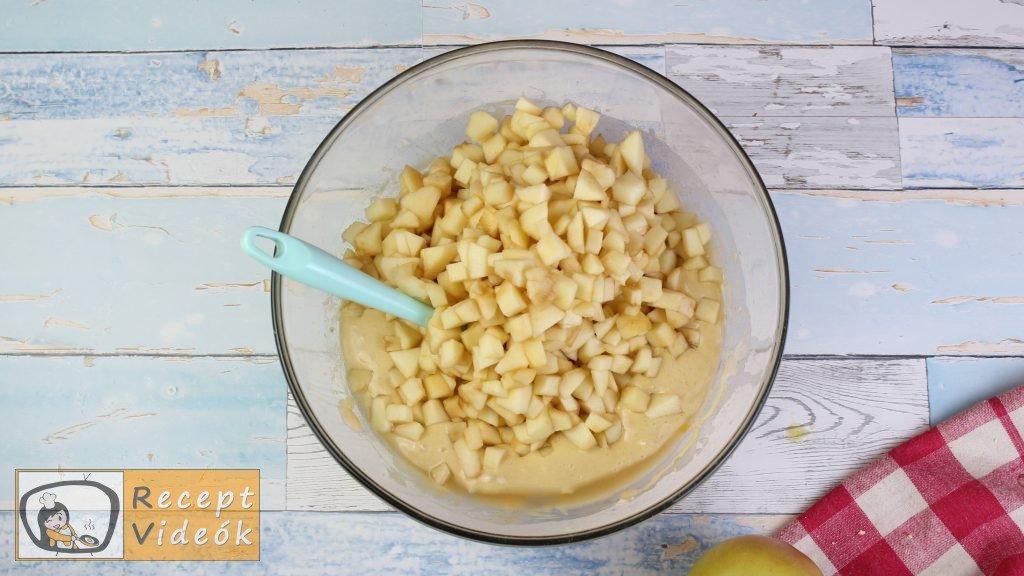 lapos almás pite recept, lapos almás pite elkészítése 5. lépés