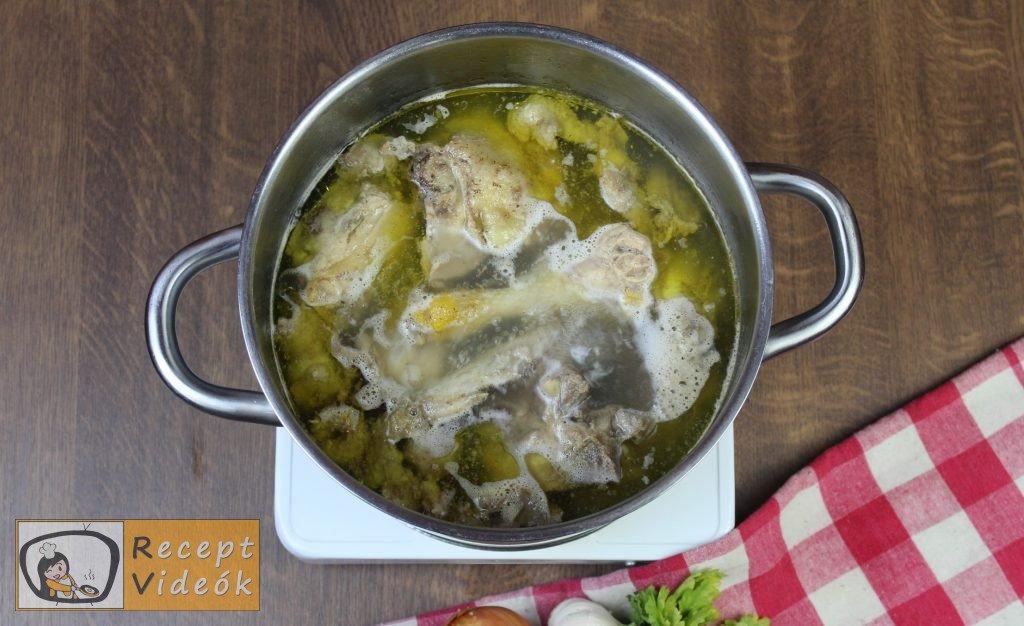 csirkeleves recept, csirkeleves elkészítése 1. lépés