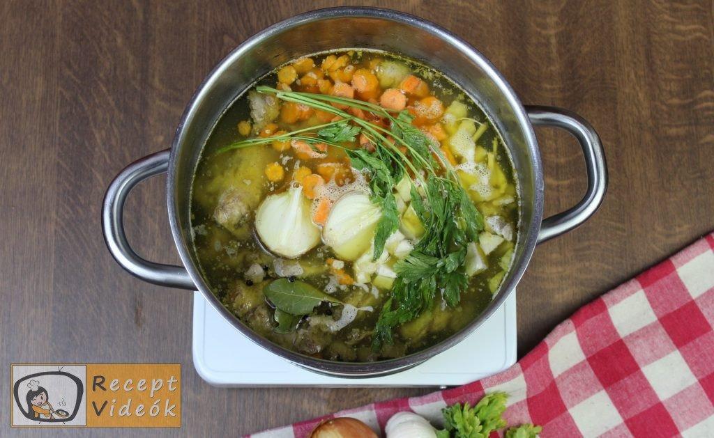 csirkeleves recept, csirkeleves elkészítése 2. lépés