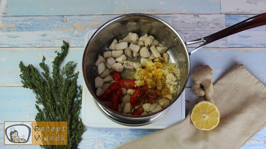 currys csirke recept, currys csirke elkészítése 3. lépés