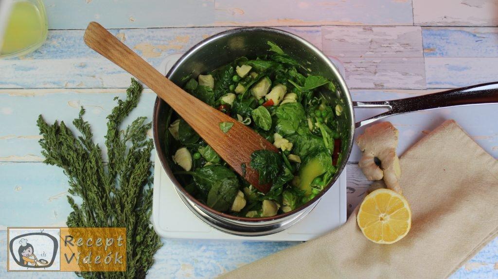 currys csirke recept, currys csirke elkészítése 4. lépés