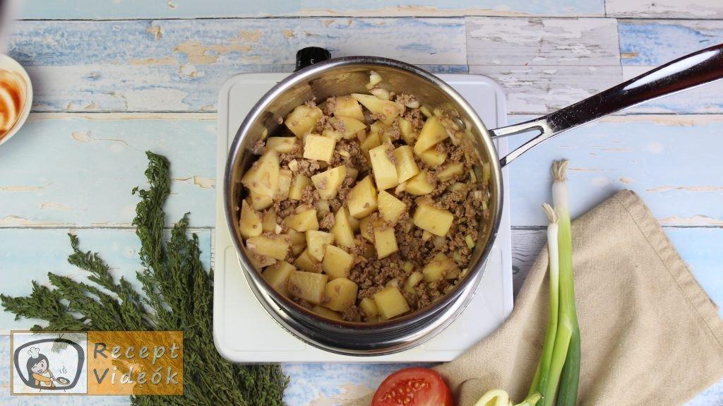 Pulykaragu recept, pulykaragu elkészítése 2. lépés